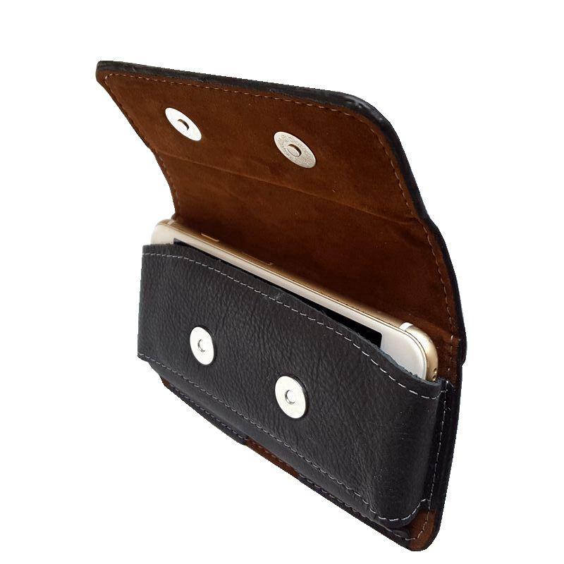 手机皮套挂腰男士老式老人机手机壳老年机手机套腰包穿皮带跨腰带
