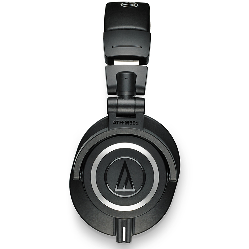 Audio Technica/铁三角 ATH-M50x 专业头戴式监听便携HIFI降噪有线耳机