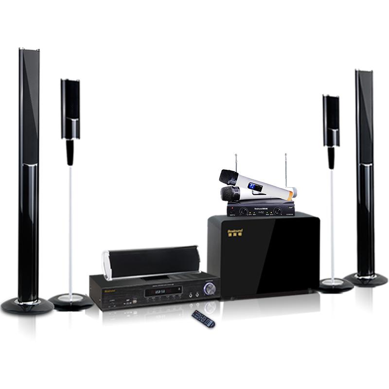 家庭影院音响套装家用客厅组合无线蓝牙音箱重低音 106B5.1 博斯顿