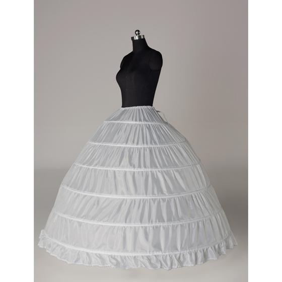 婚纱超大六钢裙撑 婚纱蓬裙演出服衬裙6圈 无纱加大撑裙直销