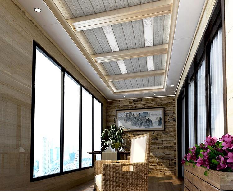 面板灯铝扣板 150X600 条扣灯走廊阳台 15X60 顶平板灯 led 集成吊顶