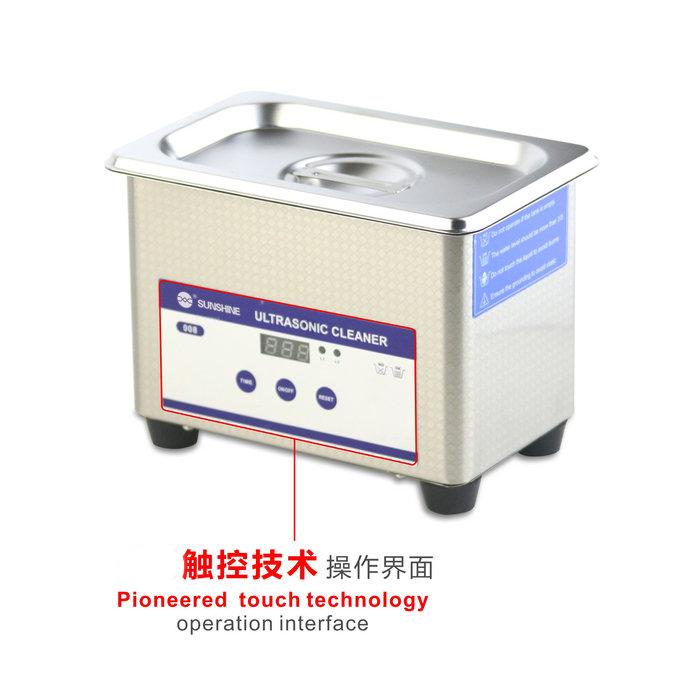 SUNSHINE SS-6508T 触摸版超声波清洁器 LED数字显示电子触控感应