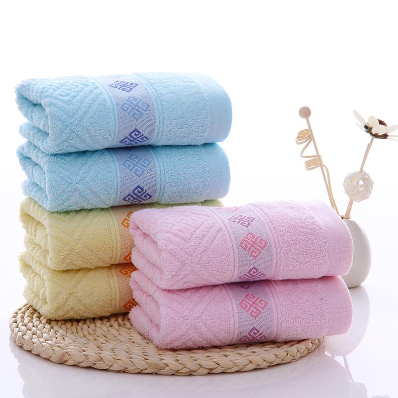 【5条装】纯棉毛巾成人洗脸 家用柔软厚男女全棉面巾厂家直销批发