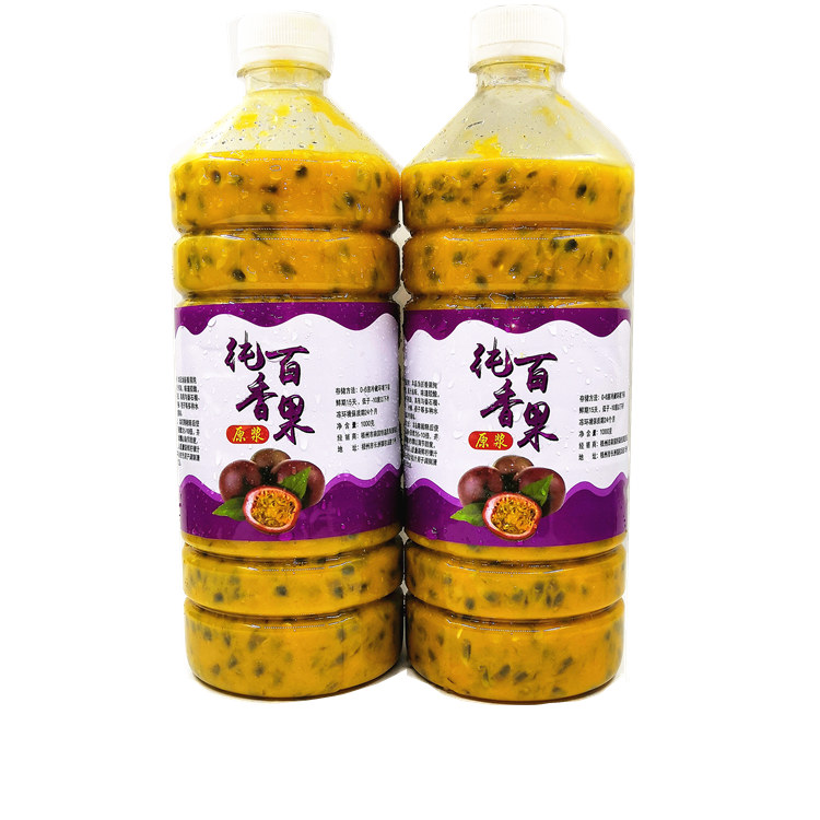 新鲜百香果原浆原汁浓缩汁纯果肉图片_4