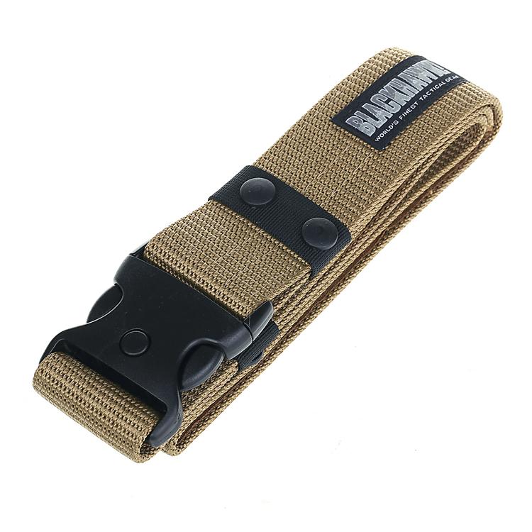户外黑鹰军迷战术CS外腰带特种兵工装武装军训作腰封训迷彩服皮带
