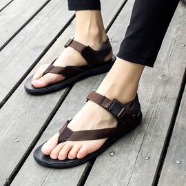 越南凉鞋男夏季沙滩鞋夏天潮流夹趾休闲凉鞋户外运动透气罗马鞋子