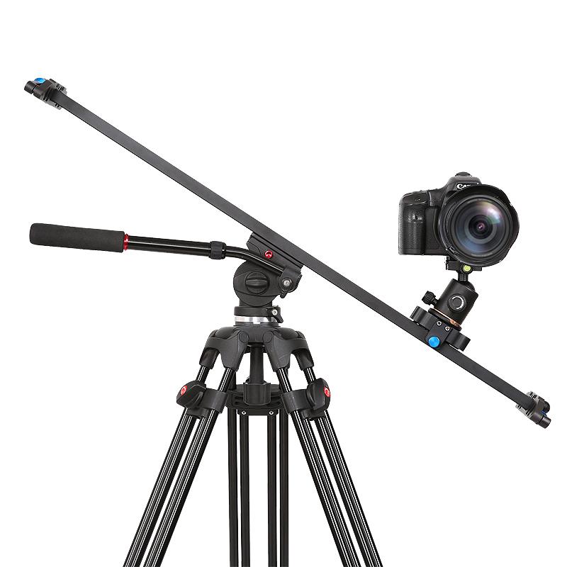 溯途单反摄影滑轨摄像机滑轨手机拍摄摄影轨道相机阻尼迷你小滑轨微移延时摄影专业视频录像摇臂云台支架滑轨