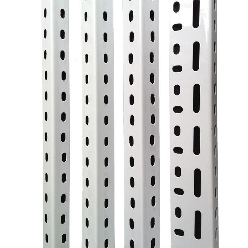 万能角铁材料货架自由组合定制组装仓储超市多功能置物架角钢家用