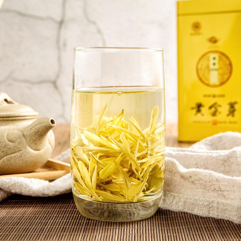 2020新茶安吉白茶正宗黄金茶雨前特级黄金芽茶叶绿茶250g礼盒罐装主图