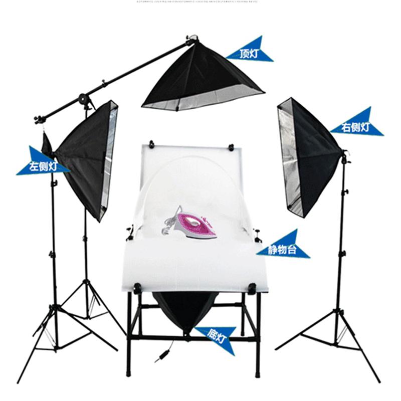 淘宝产品拍摄静物台 摄影台 拍摄台 摄影灯摄影棚 摄影器材 1*2m