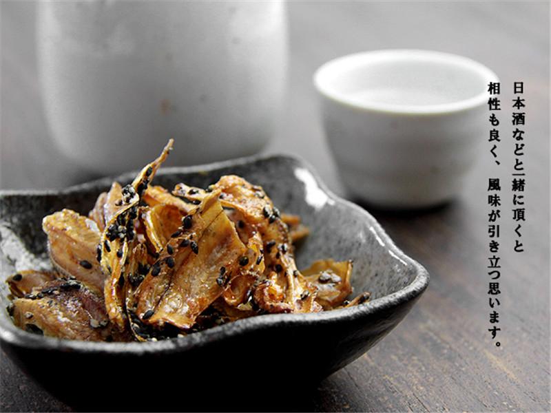 袋 3 袋 80g 日本直邮黑芝麻沙丁鱼干即食鱼干进口零食