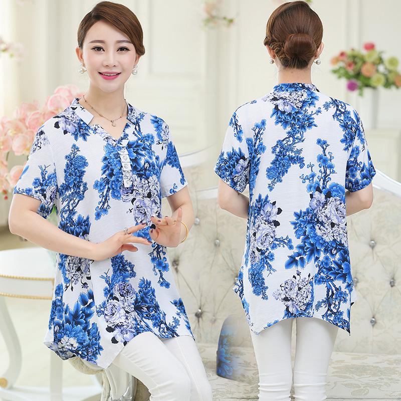 恤 T 短袖 40 衣服女装适合 恤夏装实用生日礼物给婆婆送妈妈 T