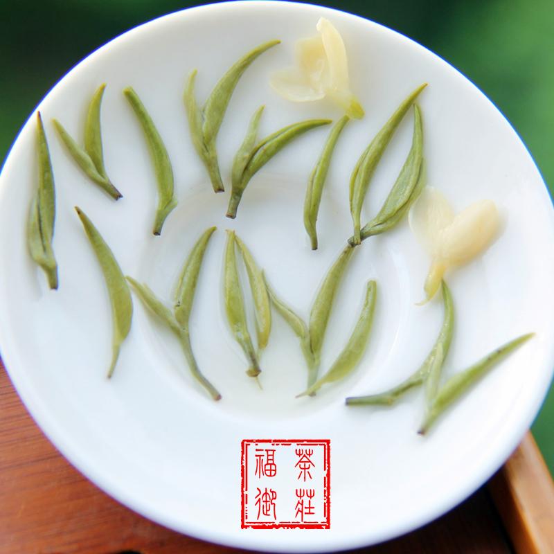 浓香型碧潭级炒花飘雪茶叶四川特级茉莉花茶散装茶叶 250g 新茶 2018