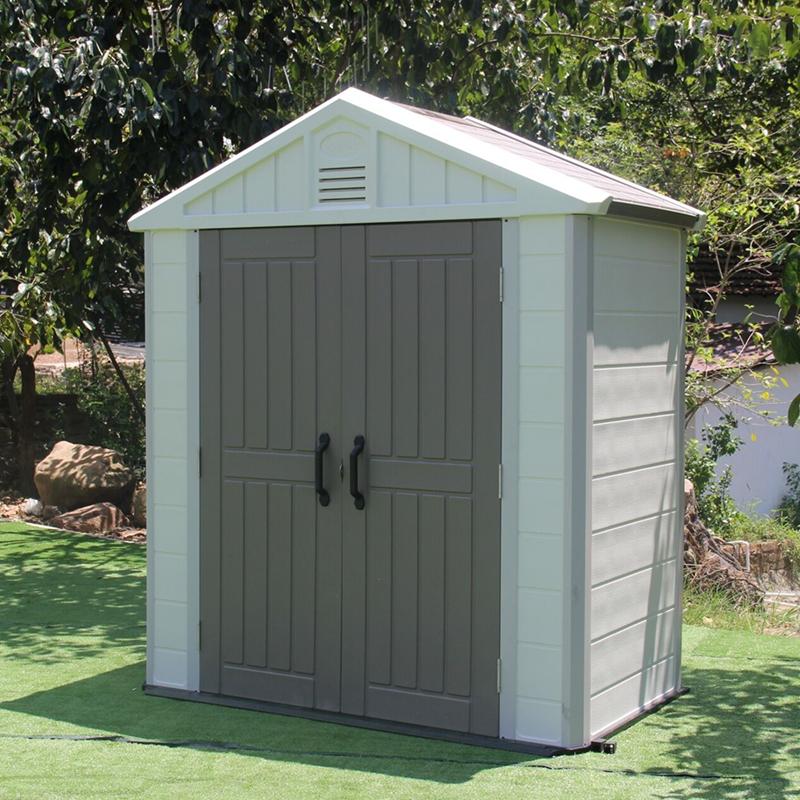 戶外組合屋花園工具房間庭院儲物雜物收納房組裝移動房別墅簡易房