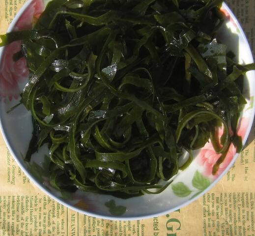 免洗海带丝500克包邮 福建渔家特产天然海带丝干货海鲜产品藻类