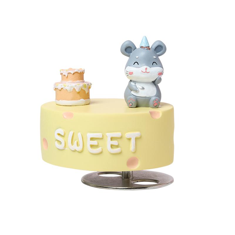 鼠小米音乐铃儿童节礼物实用送妈妈女儿童生日老鼠八音盒女孩
