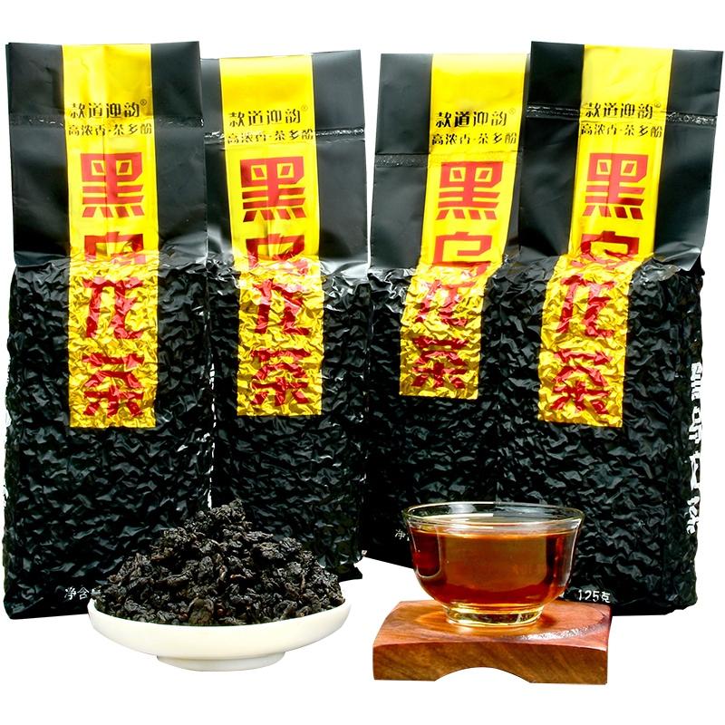 500g 高山乌龙茶浓香共 油切黑乌龙茶叶 木炭技法 黑乌龙茶 3 送 1 买