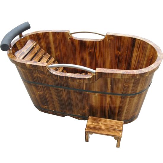 全配置新款婴儿厚板厚边5CM沐浴桶泡澡桶洗浴盆洗澡盆木制洁具