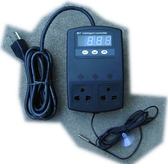 水族专用温控器WST D1 D2智能温度控制插座开关爬虫龟箱海水包邮 - 图0