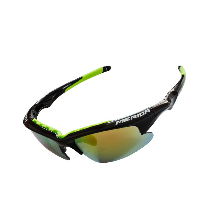 美利达骑行眼镜户外运动跑步五镜片护目镜男女通用装备正品包邮