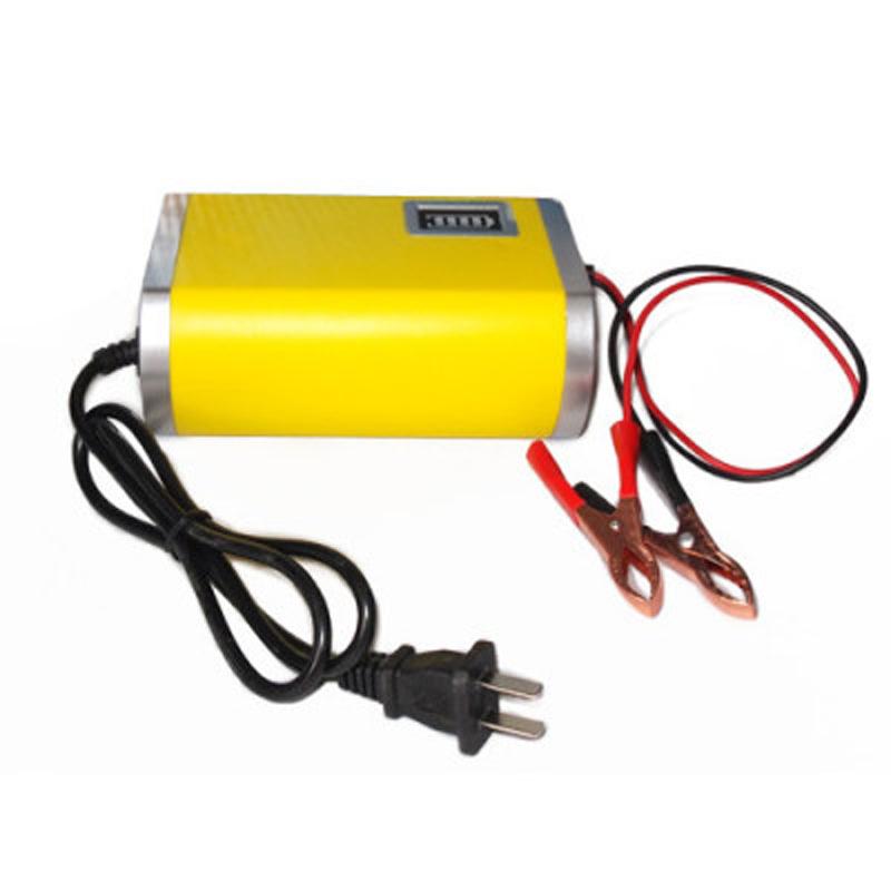 优信汽车专用充电器|12V电瓶充电器28AH-63AH电池智能充电蓄电池