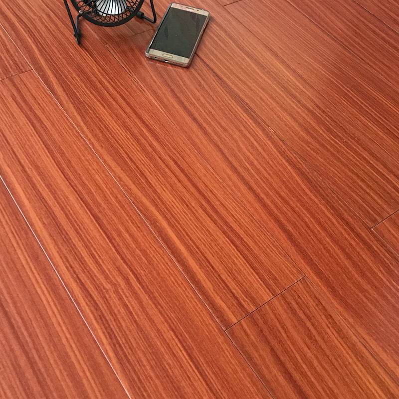 康辉地板 朴木纯实木地板厂家直销 原木卧室木地板 进口环保地板