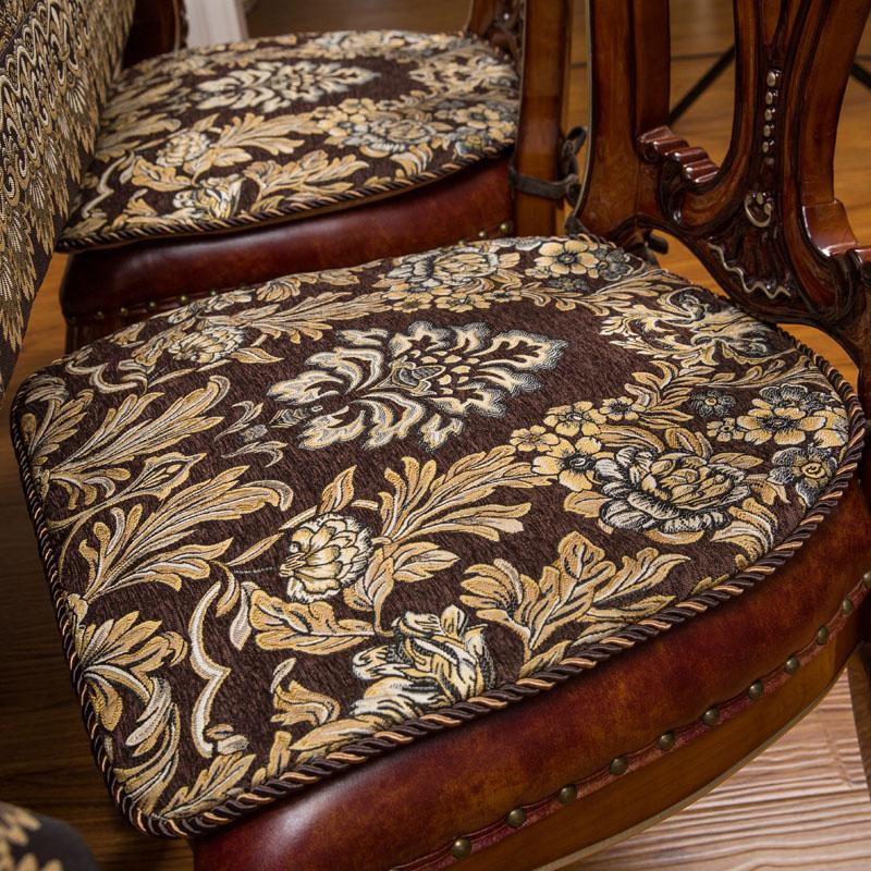 聖美綺 高檔餐桌椅墊餐椅墊歐式防滑 加大尺寸四季舒適