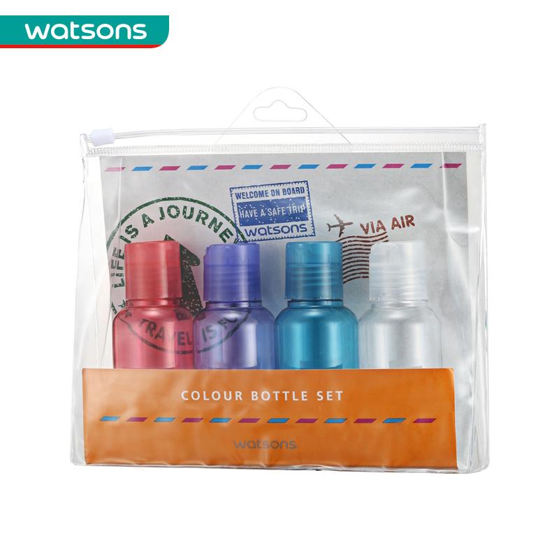 【屈臣氏】WATSONS彩色乳液瓶75毫升
