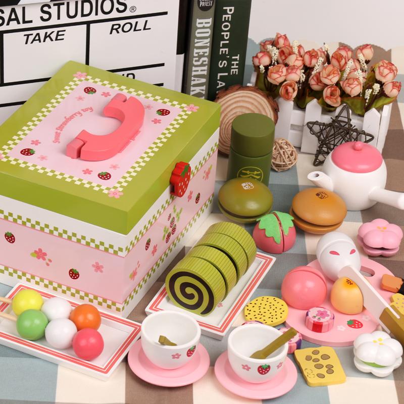 女孩宝宝女童切切厨房过家家蛋糕套装儿童玩具2-3-4-5岁6生日礼物