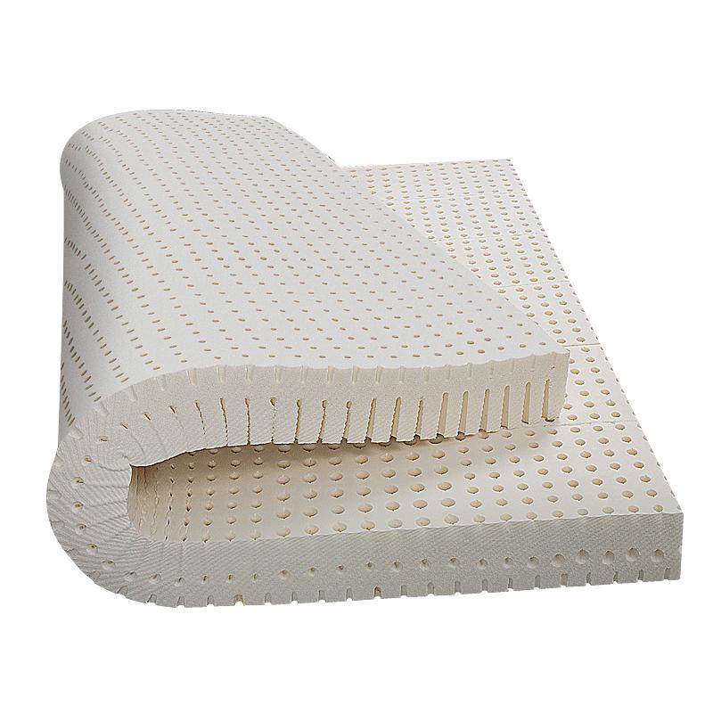 莱迪雅泰国天然乳胶床垫5cm进口橡胶1.5米1.8m床10cm席梦思定制做