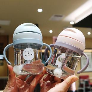 兒童喝水杯防嗆防摔寶寶吸管杯
