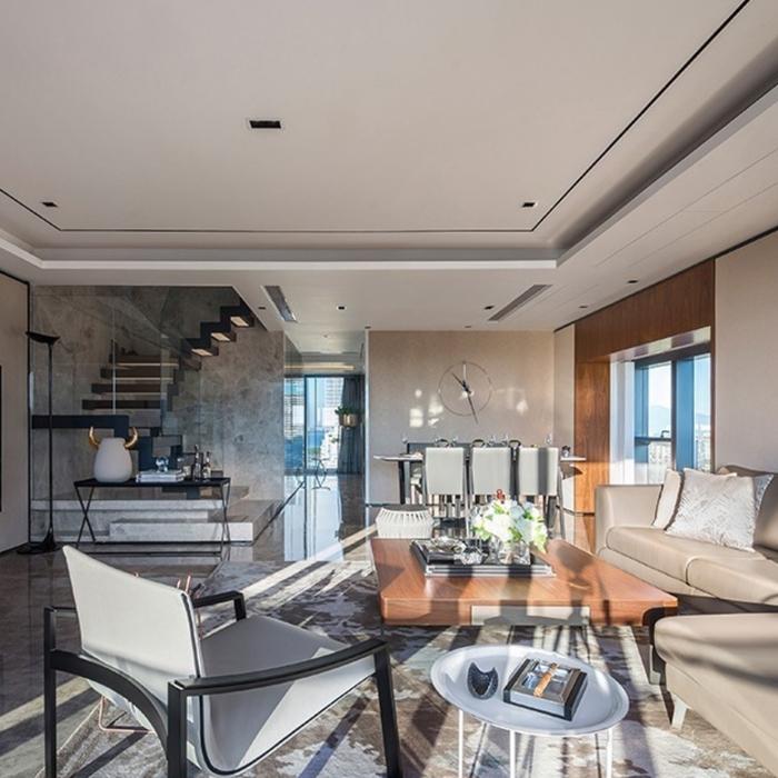 家装设计师现代简约设计新房子装修设计服务效果图施工图简约风格