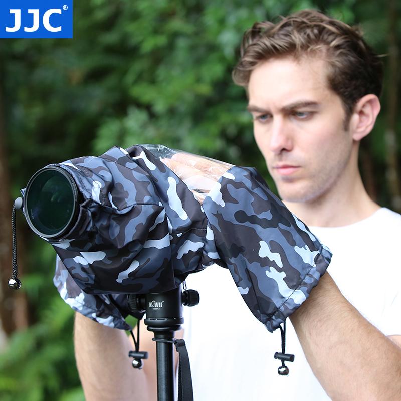 JJC 防雨罩相機鏡頭雨衣套罩防水防沙長焦鏡頭通使用者外雨天沙漠