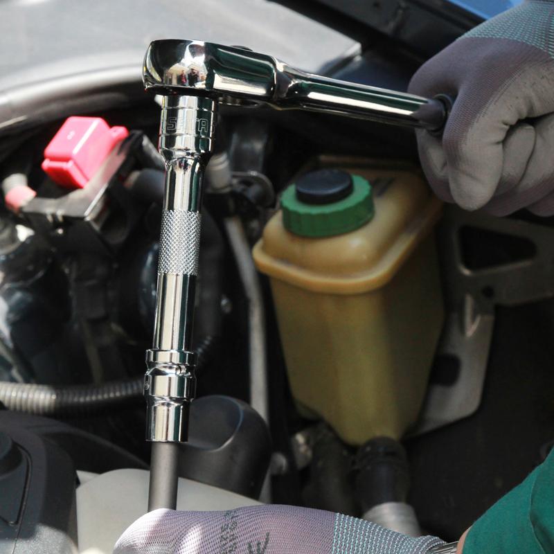 世达工具套装多功能汽车维修汽修工具箱棘轮扳手套筒修车工具组套