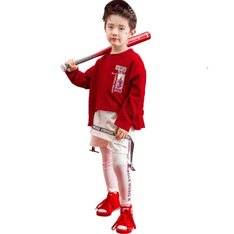 2019展会新款儿童摄影服装影楼时尚潮童男孩写真主题拍照相服饰