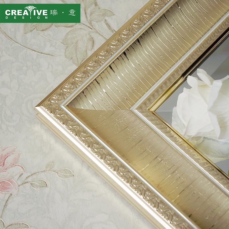 瑞意欧式全身镜落地镜服装店试衣镜子壁挂墙镜子宾馆酒店穿衣镜子