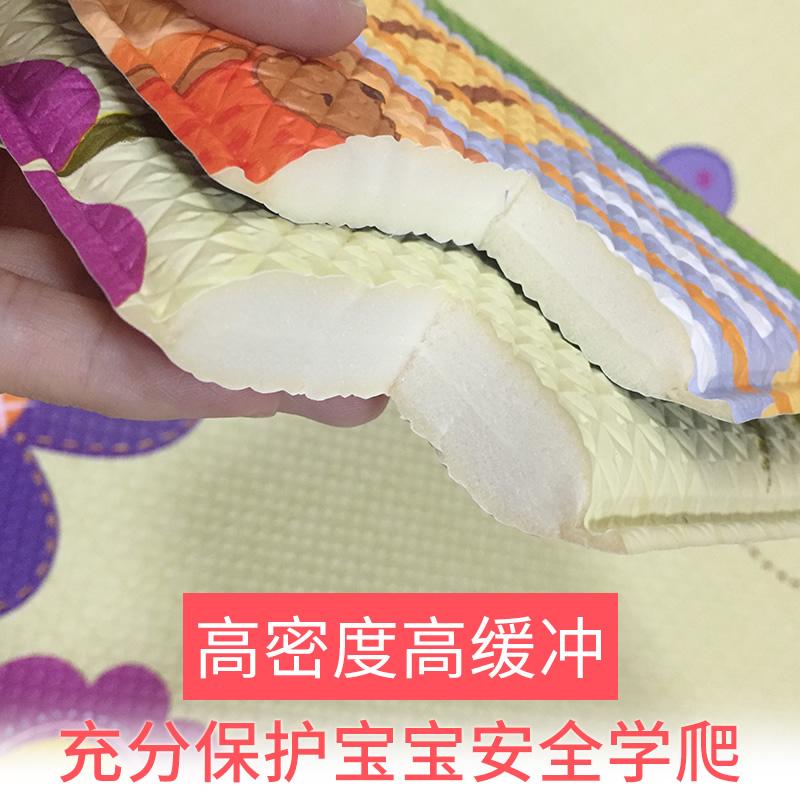 韩国爬行垫进口加厚康乐儿童地垫环保家用儿童游戏垫爬爬垫PVC垫