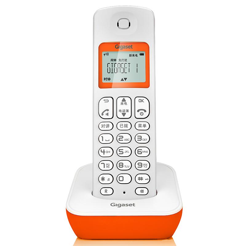电话机座机 Gigaset A190 家用固定无线固话子母机单机无绳电话