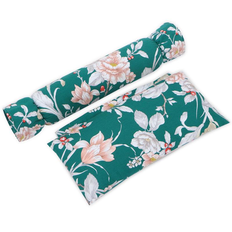 颈部枕头 药枕 舒适颈椎枕 护颈枕 物理拉伸圆枕传统 药枕荞麦枕