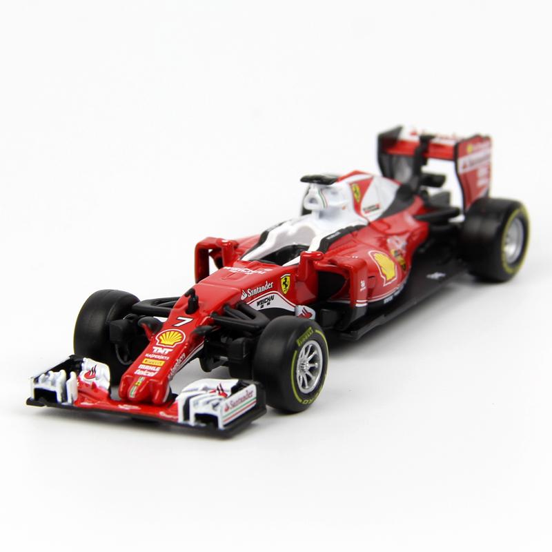 比美高1:43法拉利红牛F1方程式赛车2018合金汽车模型仿真摆件玩具