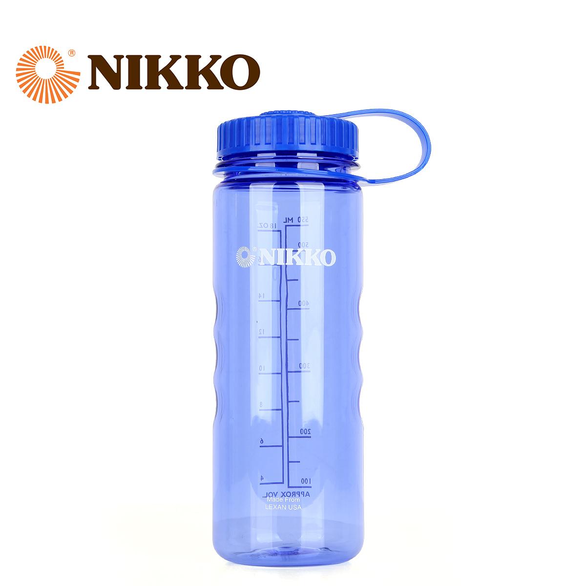 Nikko日高 600ml大容量水壺闊口水瓶戶外水壺便攜耐高溫NCW2600