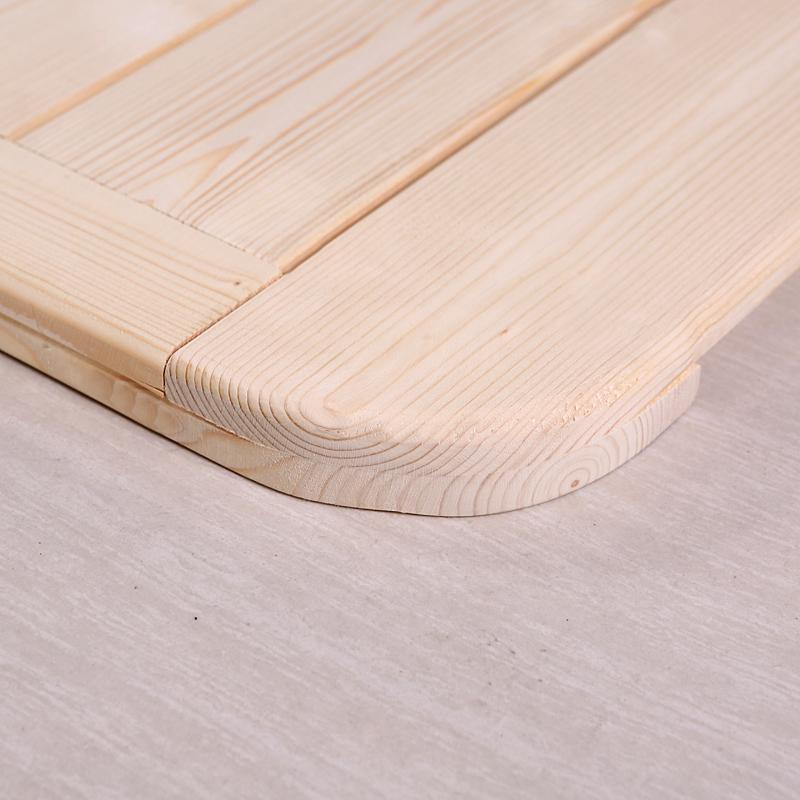 松木硬床板折叠木板实木排骨架单人1.5双人1.8米加宽硬板床垫床架