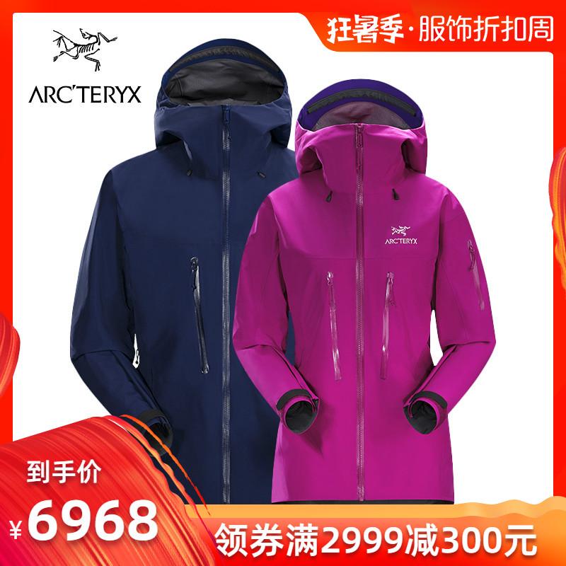 19春夏新品 Arcteryx/始祖鳥男女連帽衝鋒衣Alpha SV 18082/18081