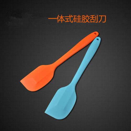 烘焙工具 大號小號一體式矽膠刮刀蛋糕 烘培奶油抹刀橡皮剷刀攪拌
