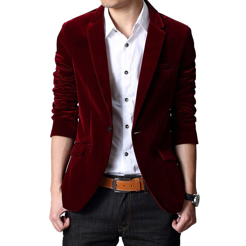 秋季新款男士西装男韩版修身显瘦平绒休闲小西服潮绒面外套便装男