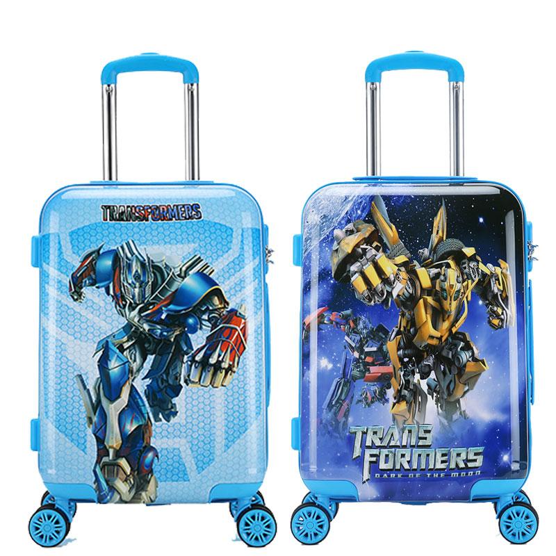 寸大黄蜂登机箱 20 儿童拉杆箱男女行李箱万向轮男孩变形金刚旅行箱