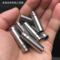 304不锈钢毛细管抛光精密无缝圆管 精密切割打孔功牙倒角加工定制