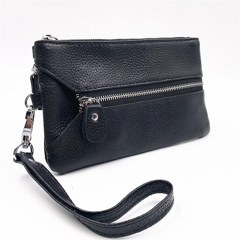 包郵特價新款多用途鑰匙包真皮牛皮卡包女士卡零錢包女包手機包