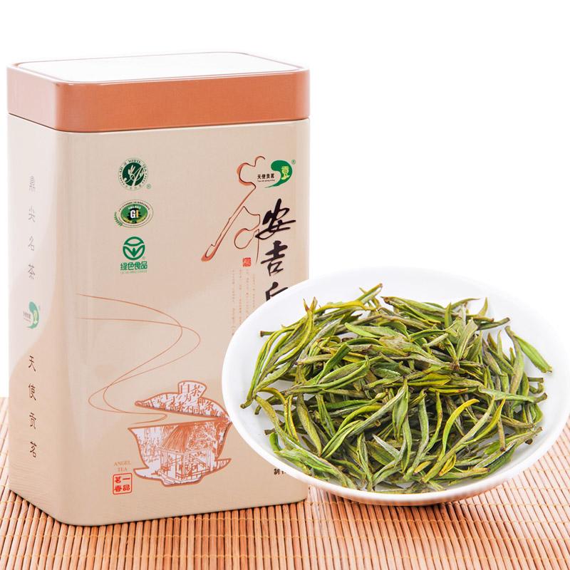 250g 明前特级新茶罐装绿茶散装春茶嫩芽珍稀茶叶 2019 安吉白茶