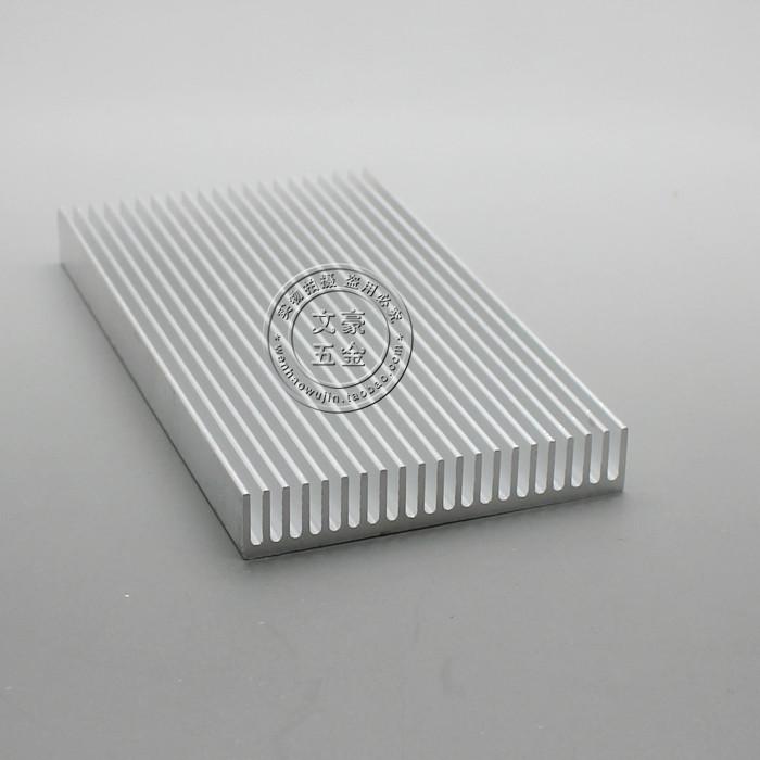优质散热器 铝散热片 100*55*10MM 铝型材电子散热铝片